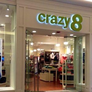 NWT Crazy 8 Girls Size 5T Pug Love Shirt